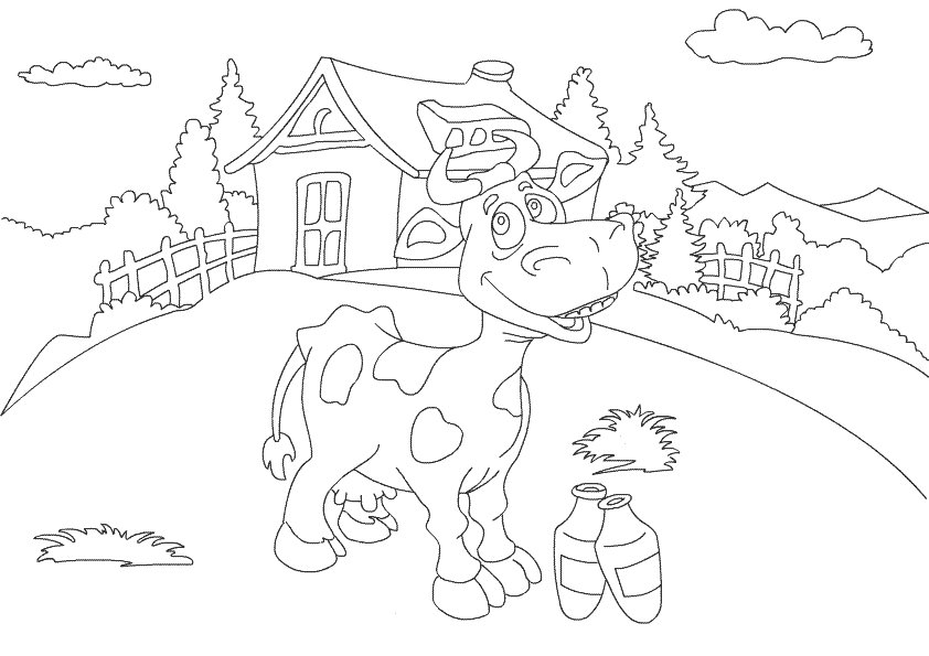 Farm Animal Coloring Pages Animal Printables for Toddlers