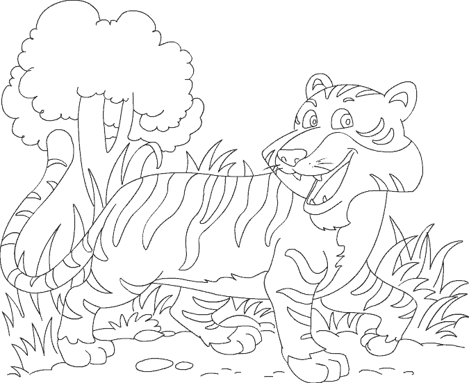 Fun Animal Coloring Pages | Print and Color Activitives for Kids ...