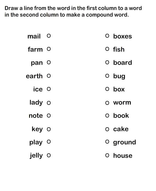 B Words Worksheet