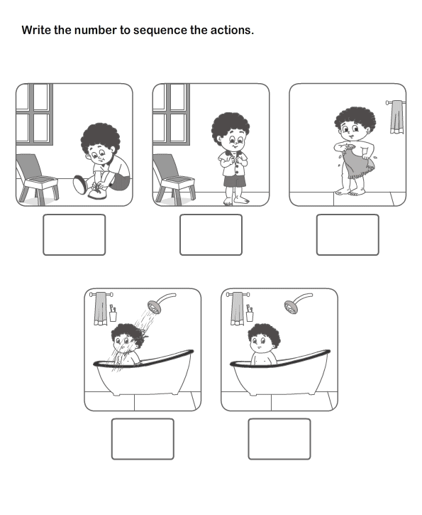Preschool Sequence Activities submited images : Pic2Fly