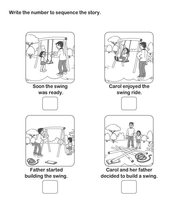 mediacookieworksheetbiglanguagepicturese – Sequence of Events Worksheets