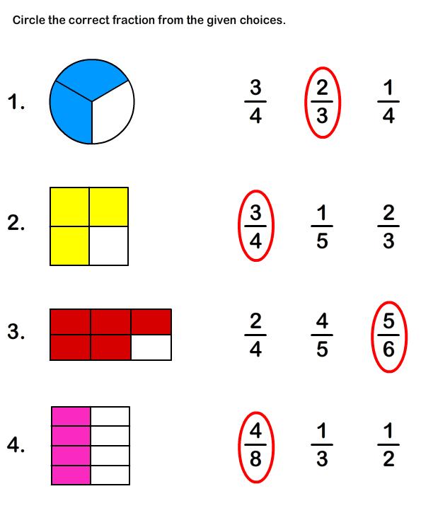 Free Printable Fraction Worksheets | Free Educational Worksheets for ...