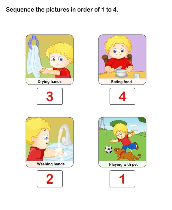 Print Free Worksheet of Personal Hygiene | Online Learning ...