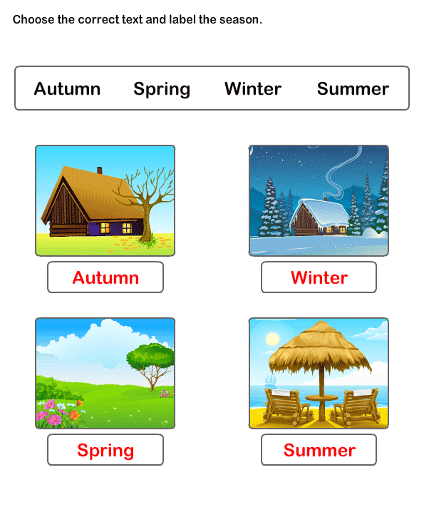 Free Printable Worksheets – Seasons Worksheet Kindergarten