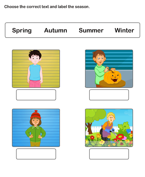 Learning Worksheets For Kids Free Online Educational Seasons Worksheet 2 Description: Picture Description Worksheets For Grade 2 At Alzheimers-prions.com