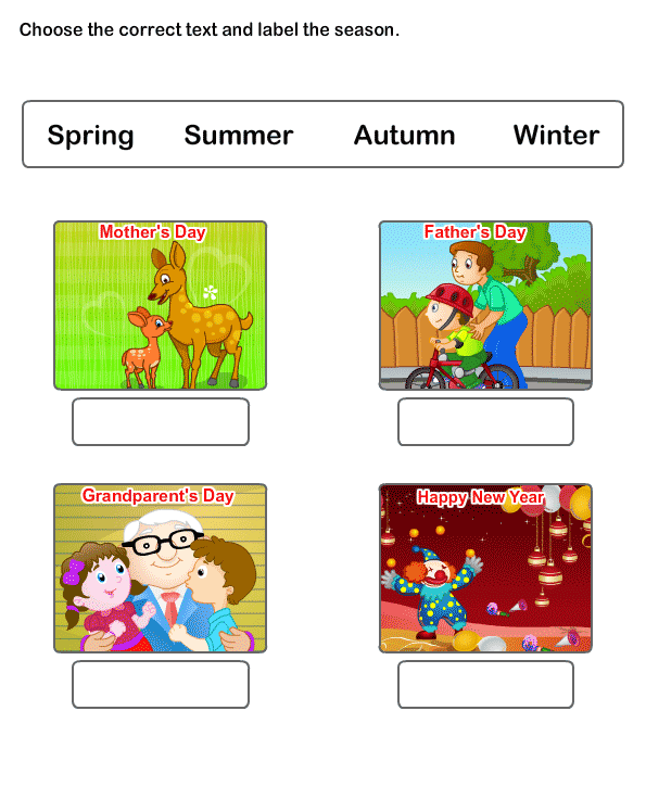 math worksheet : season worksheets  season worksheets for kindergarten : Seasons Worksheet Kindergarten