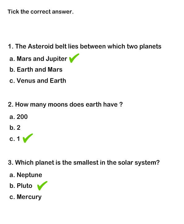 Solar System Worksheet 6 | Free Printable Puzzle for Kids