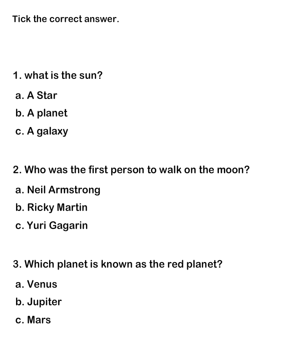 funny questions about the planets - photo #3